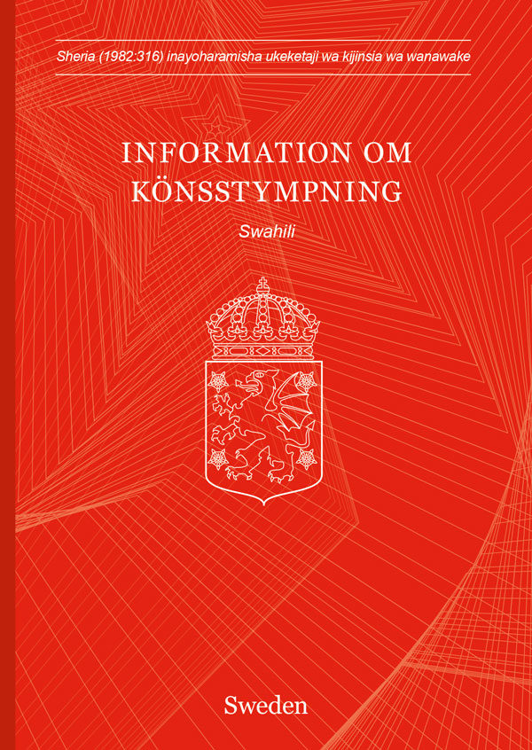 Könsstympningspass - swahili