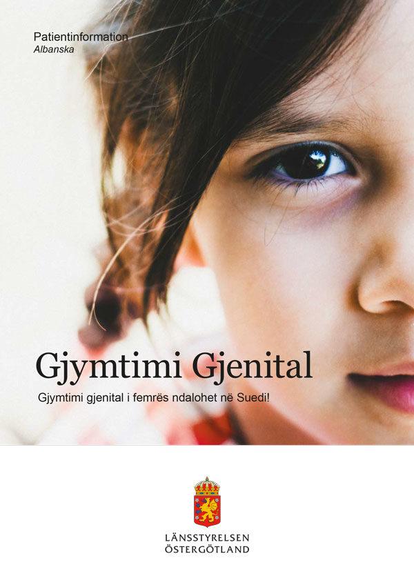 Patientinfo könsstympning - albanska